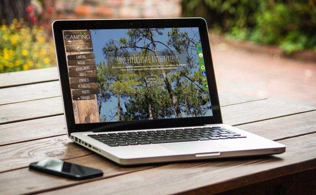 Refonte site internet Camping à Saint Jean de Monts en Vendée