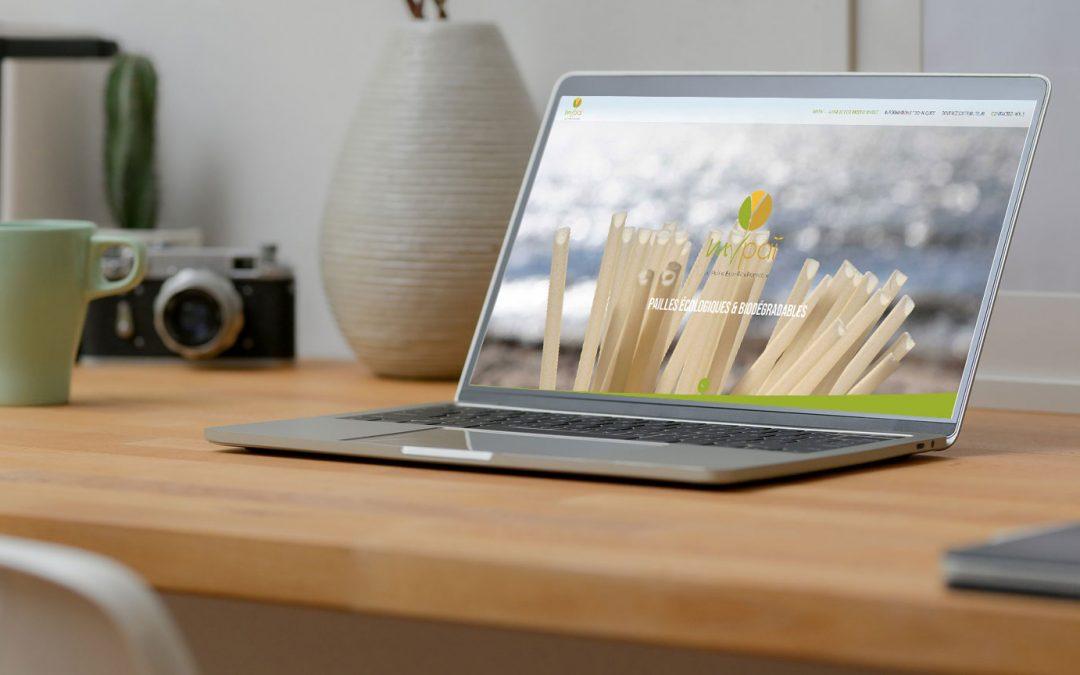 Création du site Internet Mypaï, la paille Eco-RicePonsable
