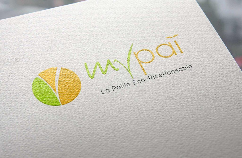 Création du logo MyPaï, la paille Eco-RicePonsable