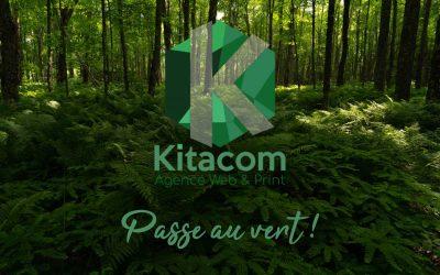 L'agence Kitacom passe au vert ! Notre kit éco-responsable !