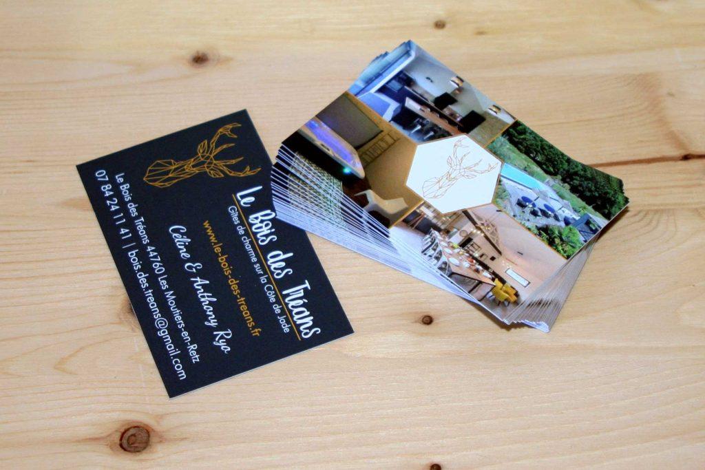 Création et impression de cartes de visite