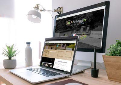 Création du site internet Abriloggia, tentes à ossature bois