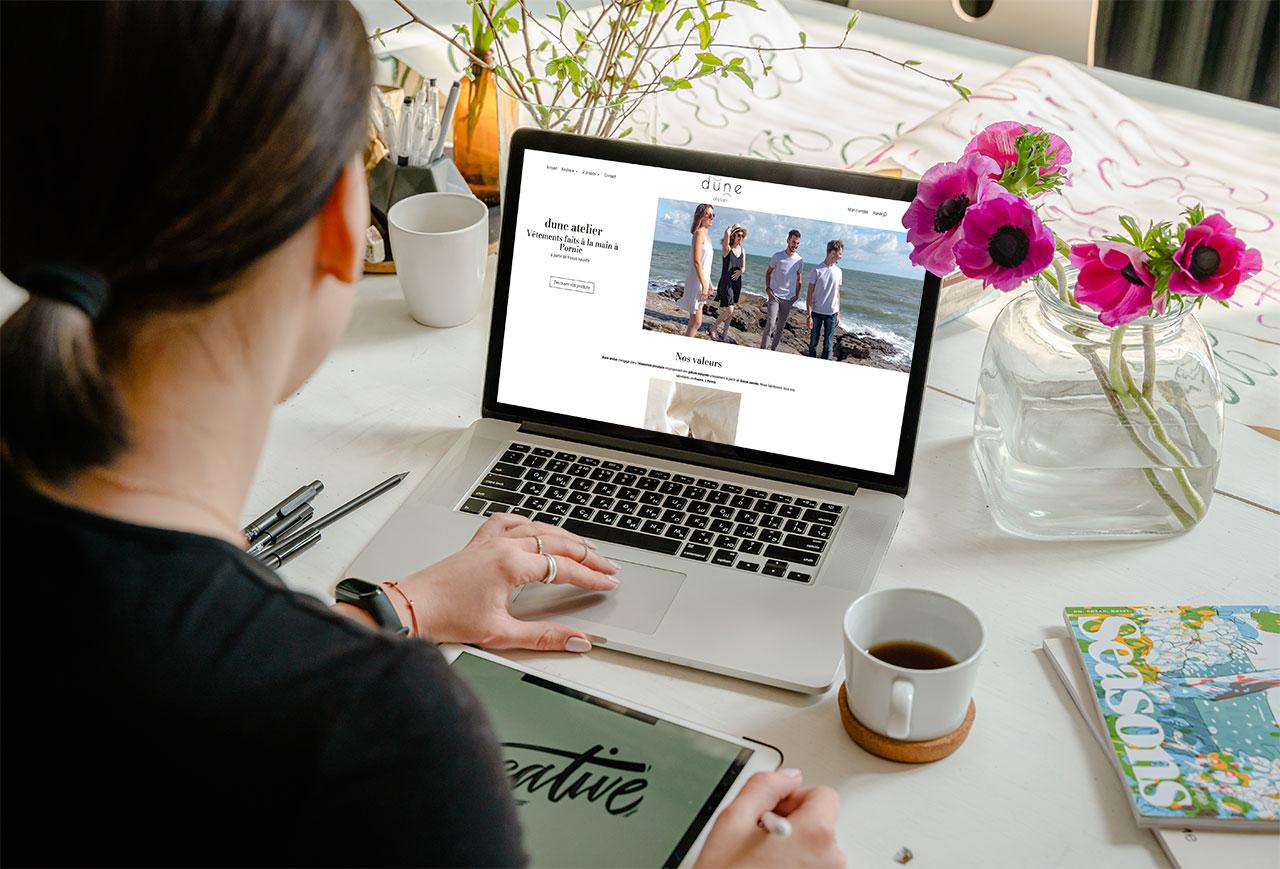 Présentation site e-commerce Photo 2000 à Saint Nazaire