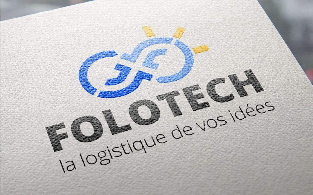 Création du logo Folotech