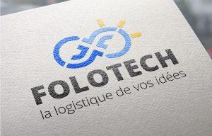 Création du logo Folotech, spécialiste en conseils et formations Supply Chain